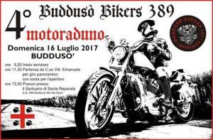 4° raduno  Bikers 389 Buddusò (SS) - 16 luglio