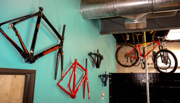 As of recent, Denver Bicycle Cafe has delved into the boutique bicycle market, pedaling frames from Alchemy, Turner, Walt Works and Ventana.