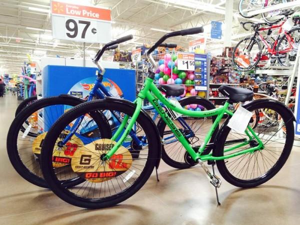 Walmart Genesis Ultra 32-inch-wheeled cruiser bicycle