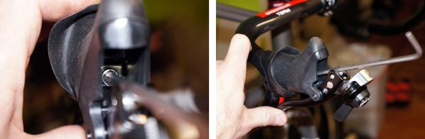 Gevenalle GX drop bar shifter levers for Shimano mountain bike rear derailleurs