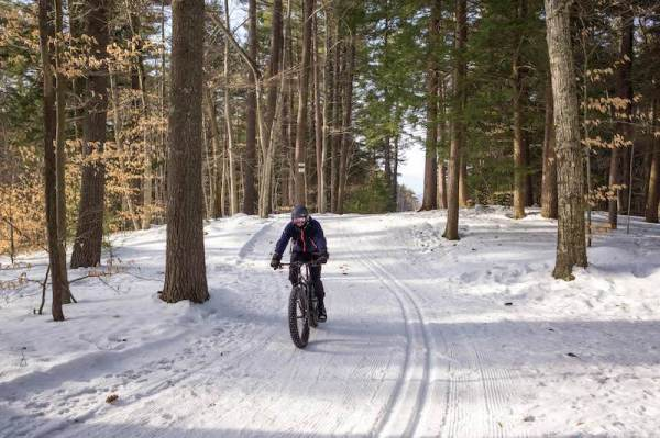 bikerumor pic of the day  Whitaker Woods in North Conway, NH