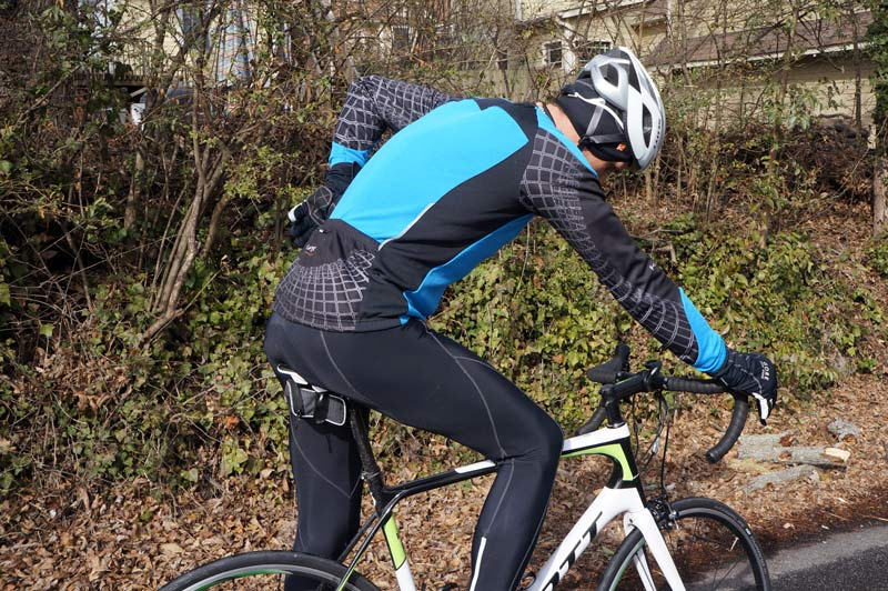 Funkier micro fleece winter cycling bib tight pants and long sleeve jersey  review … d30cd9b7c