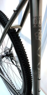 BFS15_Velocipedo_Crossing-Over_titanium_cyclocross_frame_seattube_finish-details
