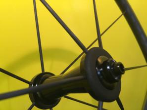 Sapim CX-Carbon fiber spokes for road bike wheels