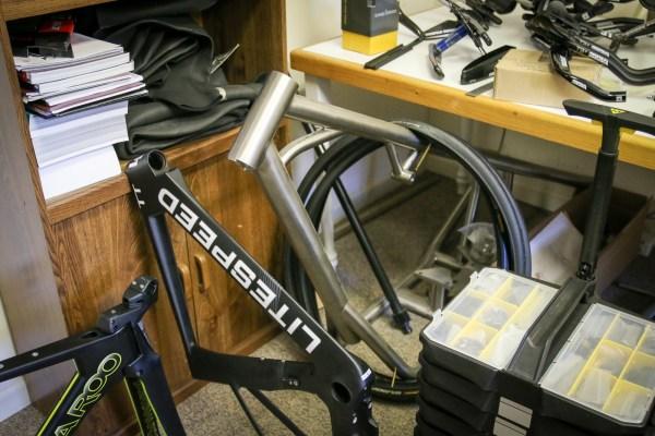 Litespeed titanium bicycle factory tour american bicycle group quintana roo_-18
