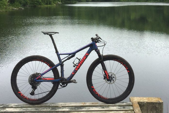 2018 Specialized Epic Full Suspension XC race mountain bike