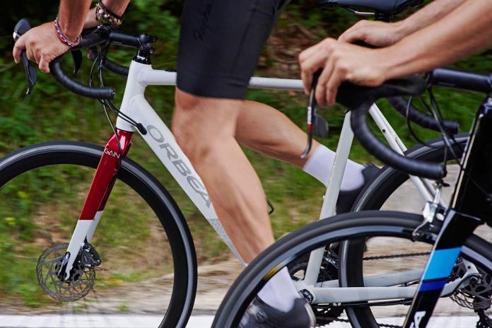 Orbea Gain aluminum road e-bike e-road bike electric-assist road bike stealth battery motor integration group ride