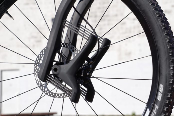 Lauf TR Boost leaf spring suspension fork review and actual weights