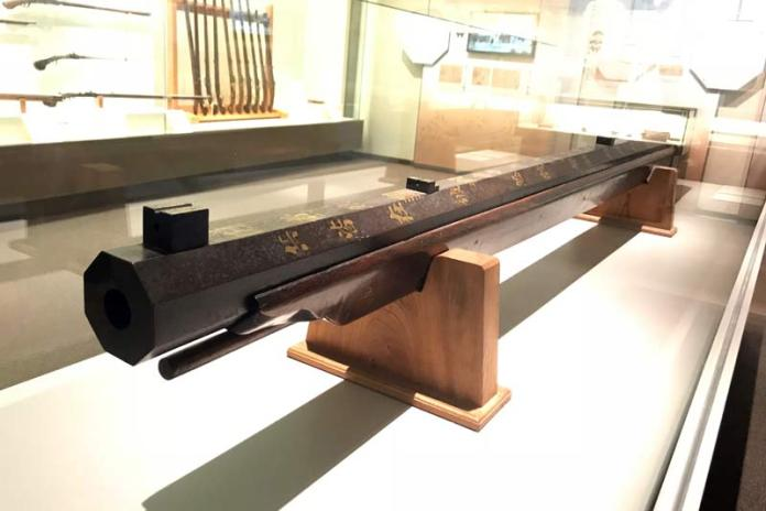 worlds largest matchlock rifle from japan