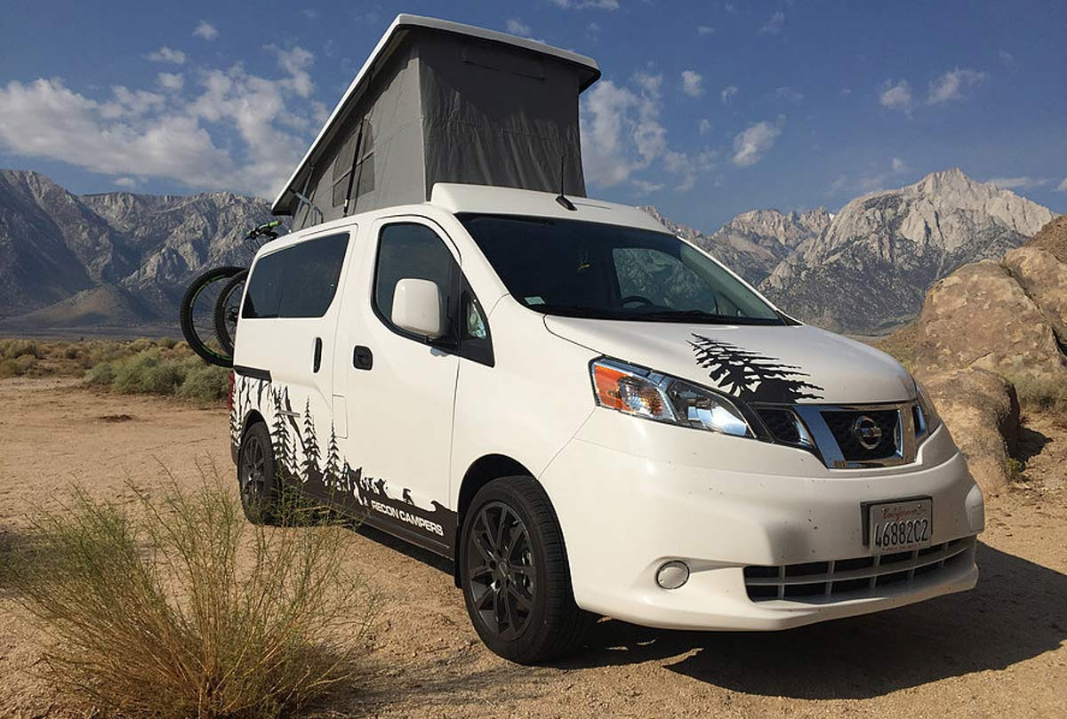 Vanlife Recon Campers Nissan Nv200 Sleeps Four Amp Fits