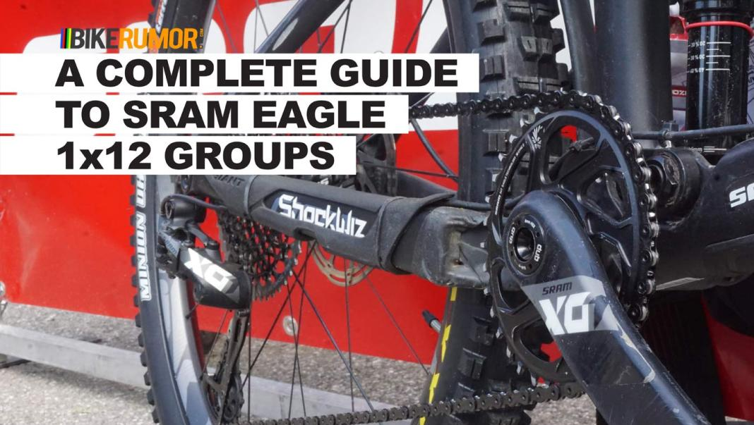 what's the difference between sram eagle groups