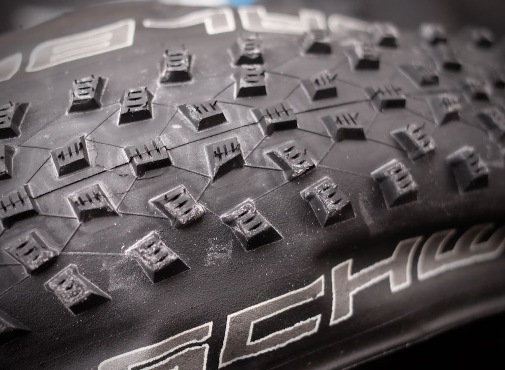 Designing an XC tire from the ground up is complicated tire science.