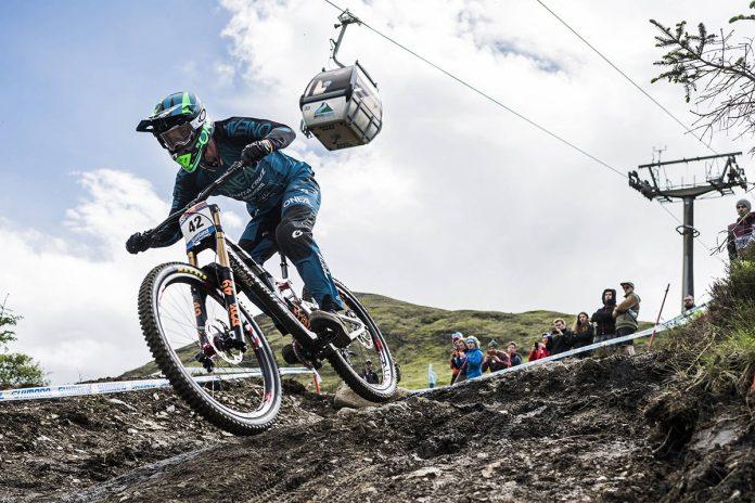 Greg Minnaar Racing DH MTB Scotland