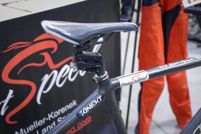 Project Speed: Mueller-Korenek pedals at 183.9mph for Paced Bicycle World Record