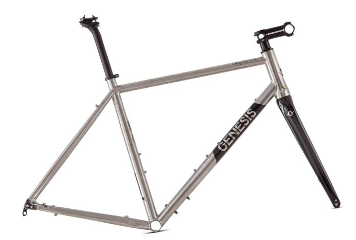 2019 Genesis dropbar road, gravel & adventure bike updates in steel, ti & carbon
