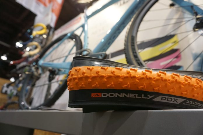 limited edition team only orange cyclocross tires for Donnelly team riders