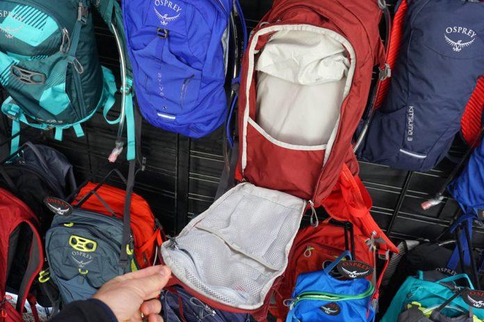 2019 Osprey Siskin and Salida mid-range hydration packs for mountain biking and touring