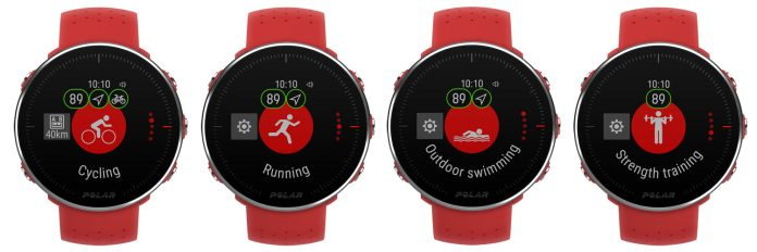 Polar Vantage heart rate gps watch for cycling running swimming and crossfit training