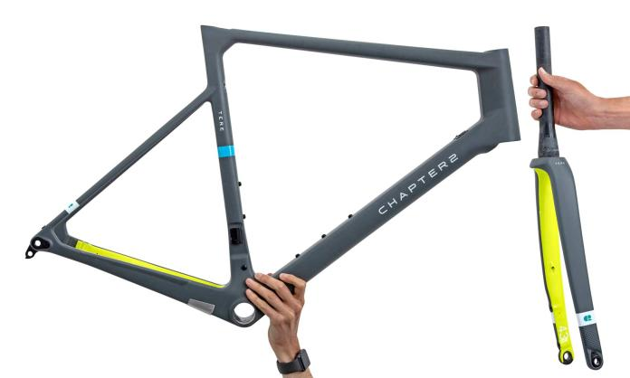 Ornot x Chapter2 Tere Disc limited edition carbon disc brake road bike frameset