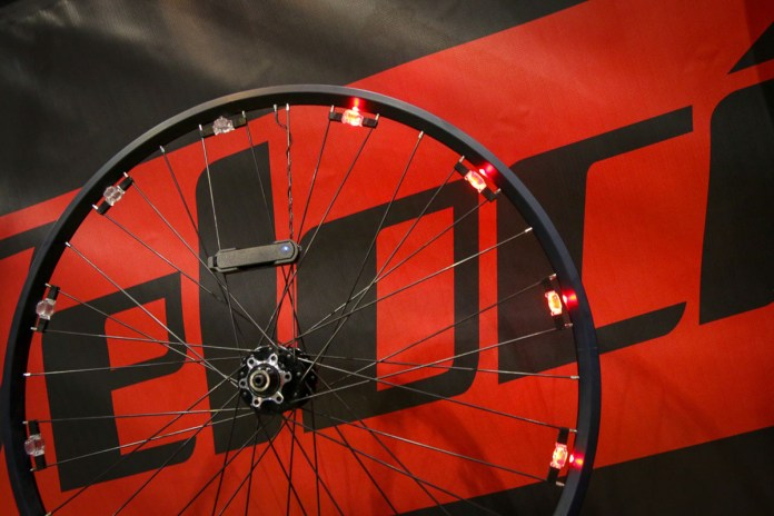 Velocity USA spins out integrated Revolights concept inside of a rim