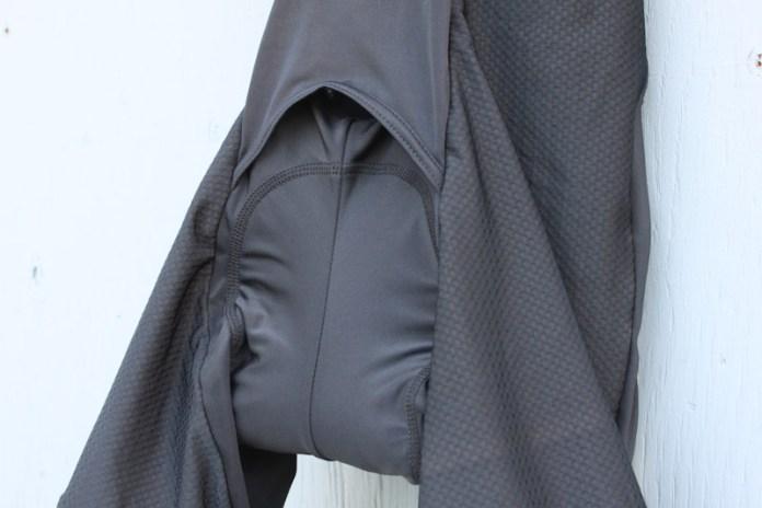 Endura Singletrack Bib Liners, access flap