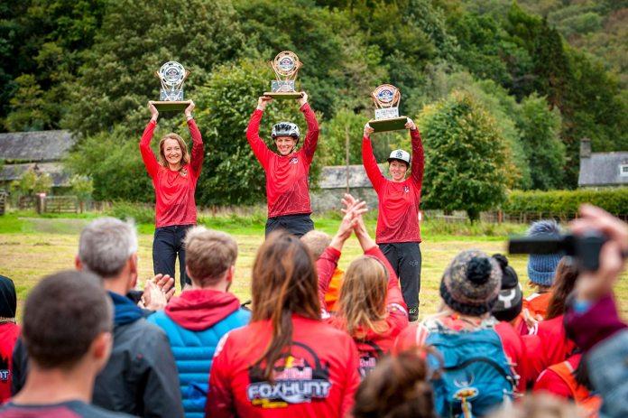 Katie Wakeley Red Bull Fox Hunt 2018