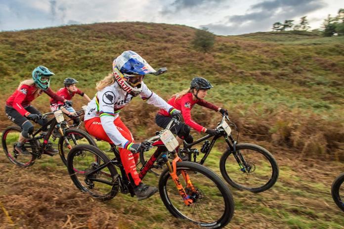 Rachel Atherton Red Bull Fox Hunt 2018 hounds Trek Remedy downhill mtb