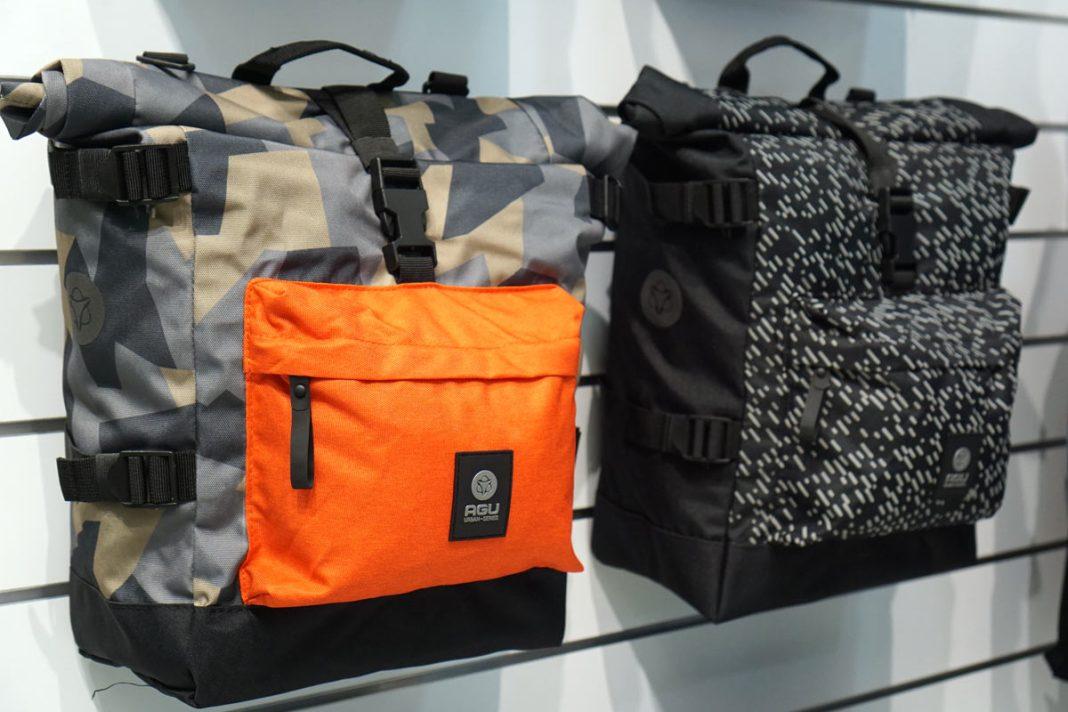 agu rollmop waterproof pannier bags for bicycle commuting and bikepacking