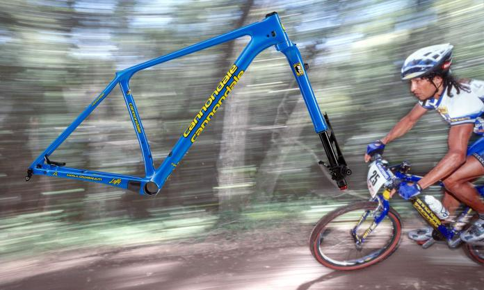 Cannondale F-Si Throwback, limited edition retro modern XC framesets