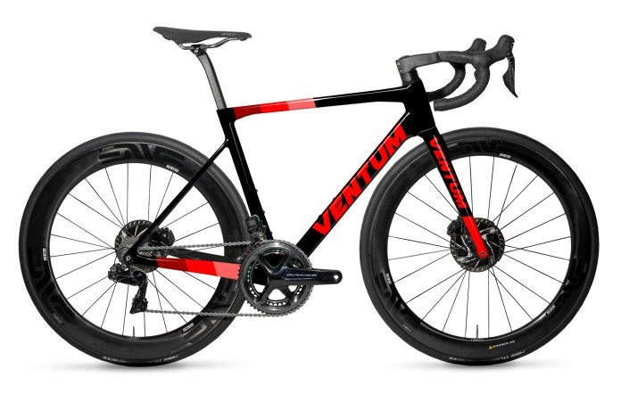 Ventum NS1 races in with light weight and UCI approved aero road bike design