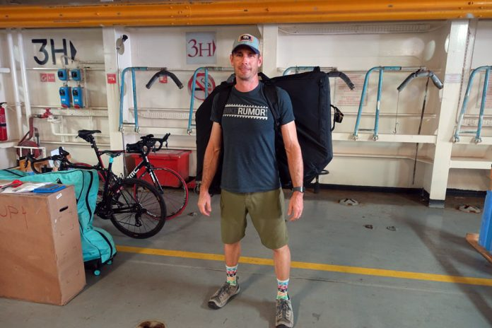Post Carry bicycle travel case lets your fly with your bike and avoid excess fees from airlines