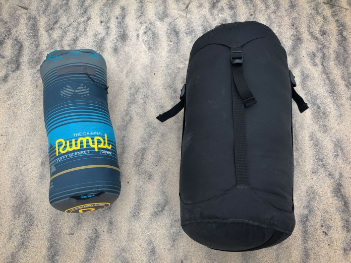 Vanlife review: Rumpl puffy down blanket will keep you warm on the go
