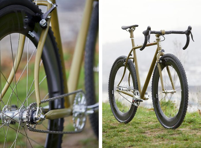 limited edition replica Speedvagen VX07 singlespeed cyclocross bike