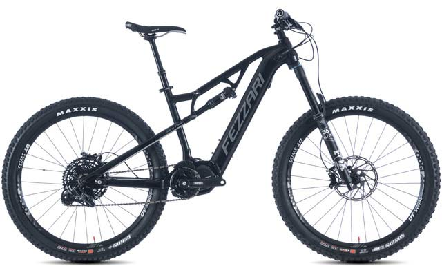 2019 Fezzari Wire Peak Pro e-mountain bike specs and build kit