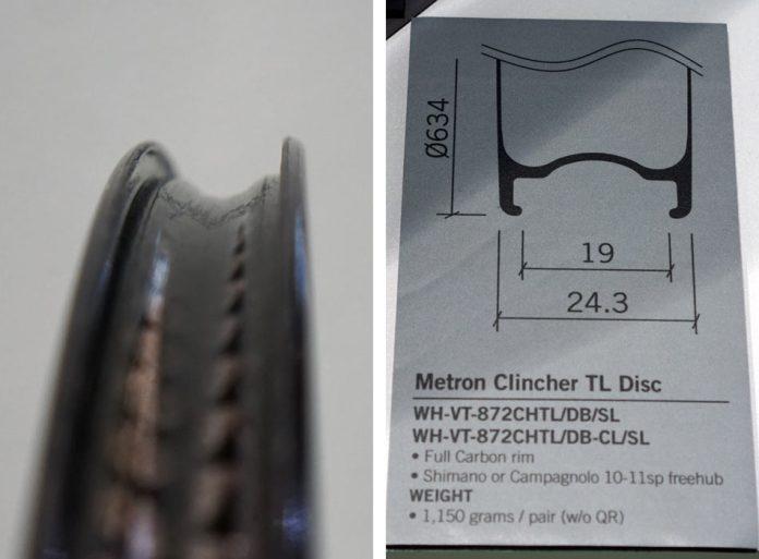 FSA Vision Metron TL Disc tubeless-ready clincher rear wheel for triathlon and time trials