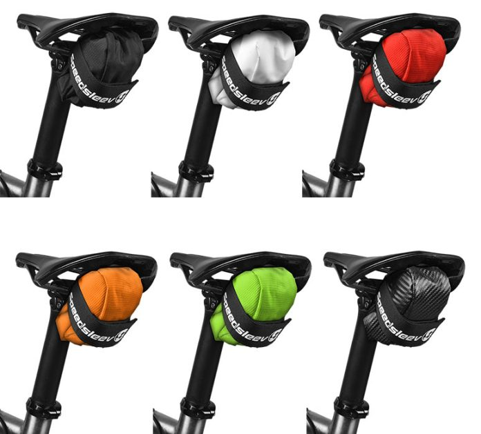 color matched saddle bag from Speedsleev to match your bike or team kit