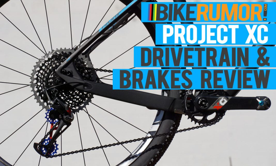 long term review of SRAM Eagle XO mountain bike drivetrain plus Formula Cura 2 hydraulic disc brakes review and crank brothers eggbeater 3 review