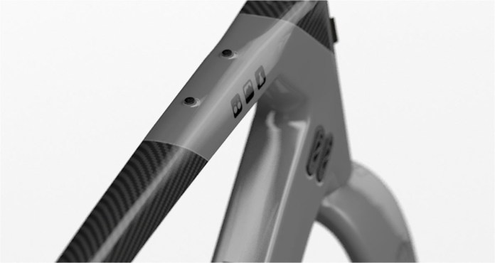 TD 3.0 frame mounting eyelet for bags racks fenders