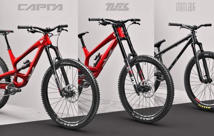 YT 2019 new mountain bike range