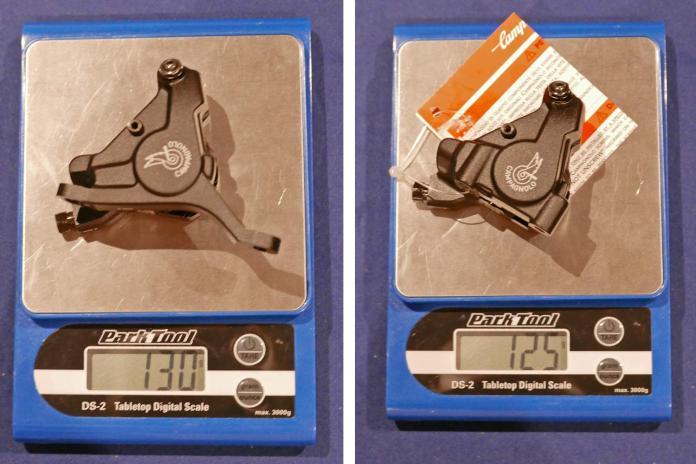 캄피 슈퍼 레코드 EPS 12 - 실제 가중치 및 가격