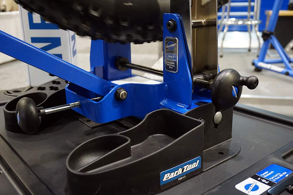 Park Tool upgrades their top level wheel truing stand, chain tools & more