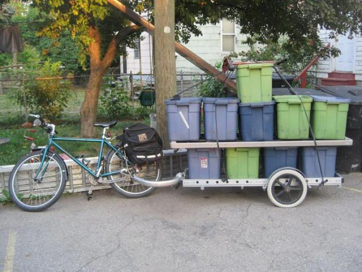 Bikes at work