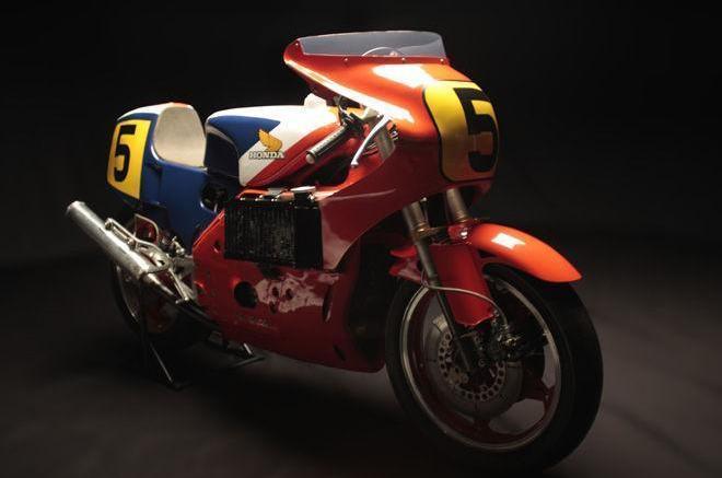 Honda's V8 race bike NR500   The Bike Shed Times