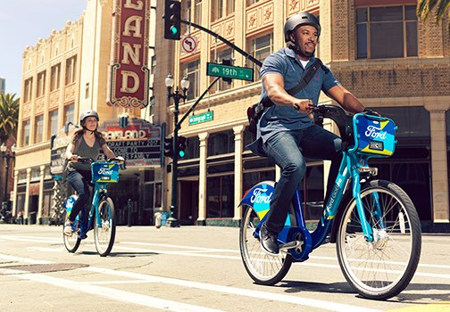 One year membership to Ford GoBike (Retail Value: $149)