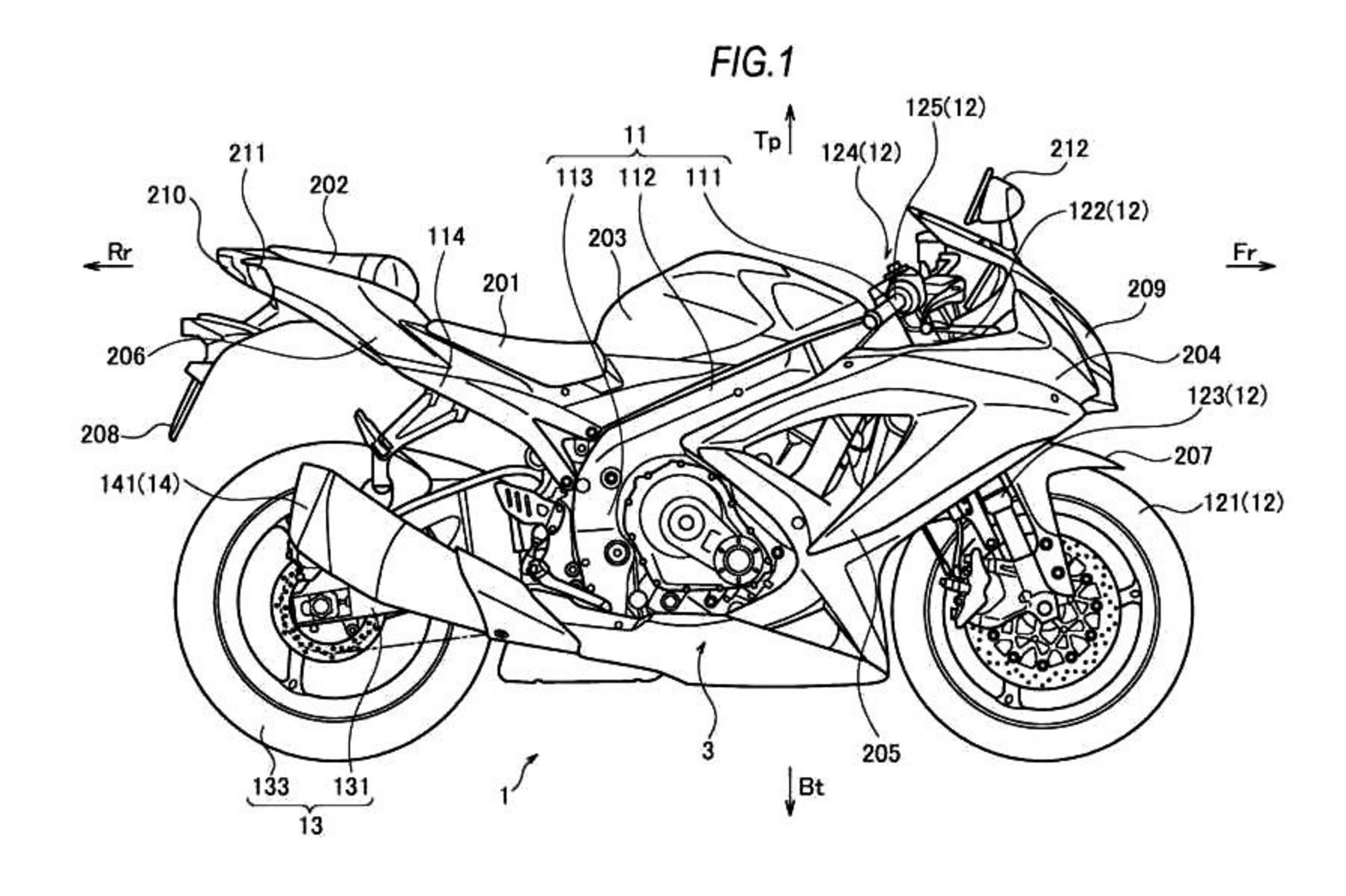 Turbocharged Suzuki Gsx R Coming