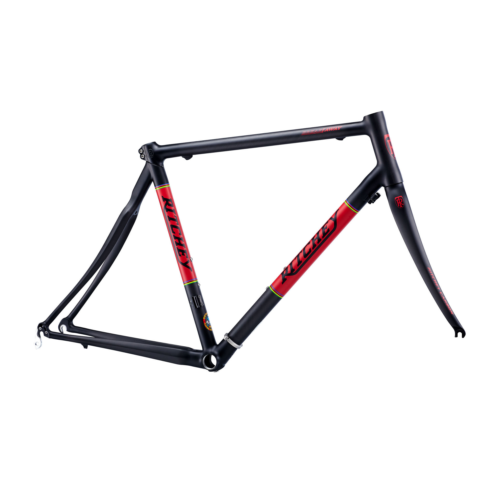 Ritchey Wcs Road Break Away Carbon Frameset Black Red