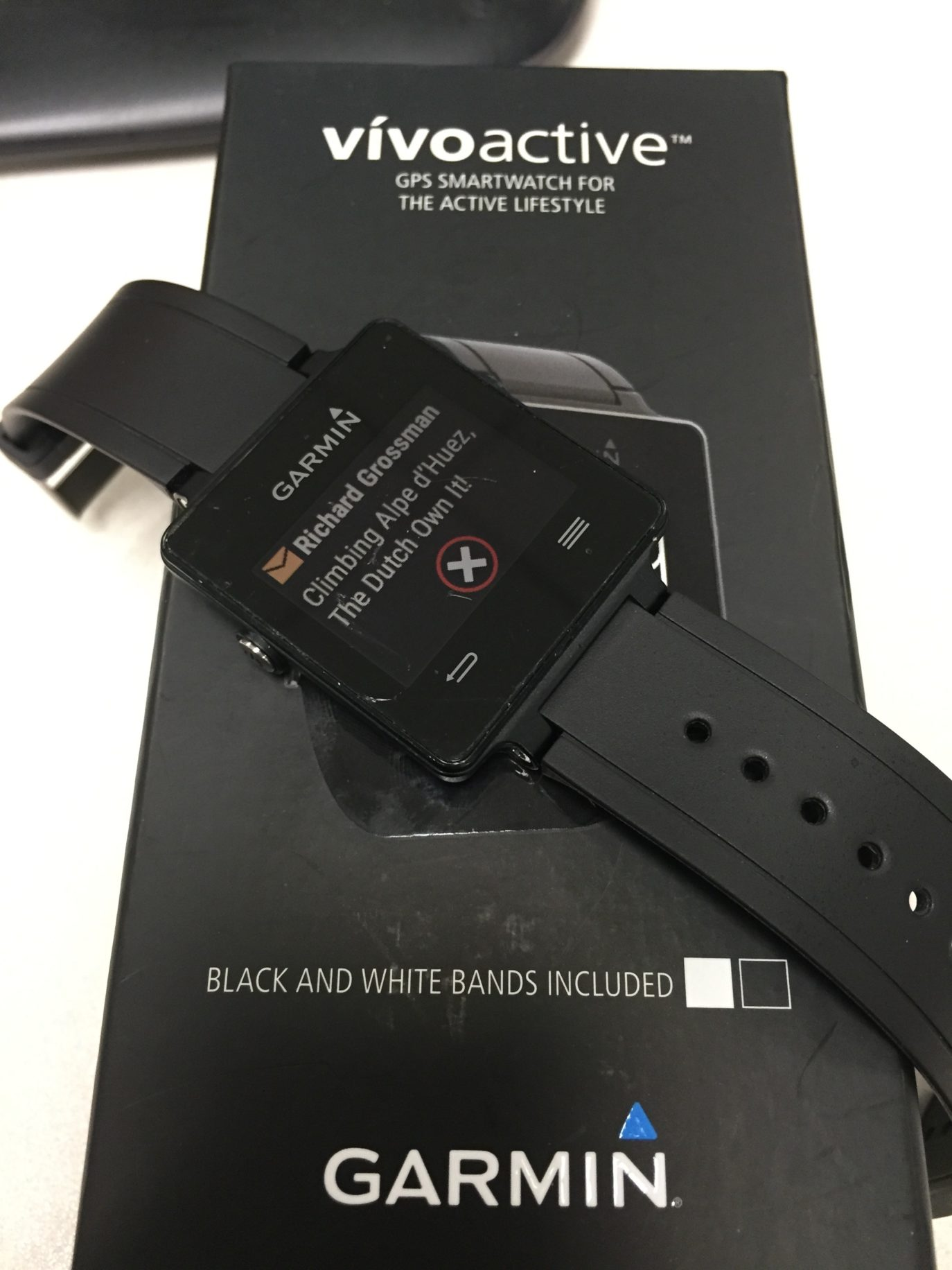 Garmin Vivoactive - A Solid Sports Watch In Smartwatch Clothing