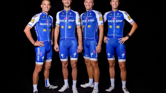 Quick step floors cycling team unveil 2017 jersey for Quick step floors cycling team