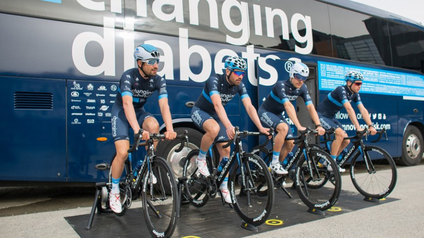 Team Novo Nordisk and CycleOps partner for the 2018 season 1a909ae2e