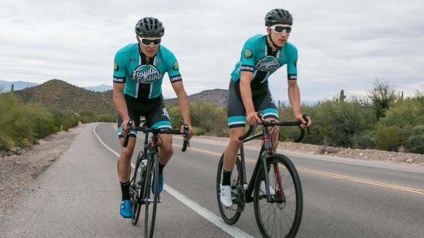 5eda1dddb Floyd s Pro Cycling unveils kit